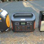 【画像あり】ポータブル電源 を全部買って使った感想、レビュー 車中泊 サブバッテリー 比較 スマートタップ suaoki G500